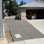 Driveway Extension & Side Yard Concrete In Vacaville