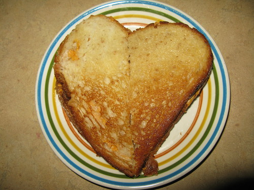 ♥ vegan grilled cheese sandwich ♥