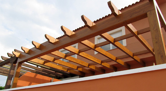 Photo - Pergolas de madera valencia ...