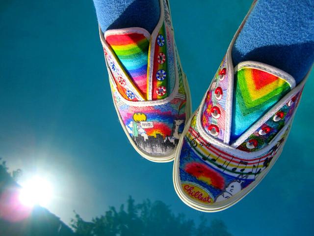 Rainbow Vans: Flickr - Photo Sharing