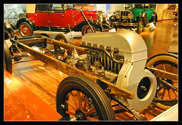 1923 Franklin engine