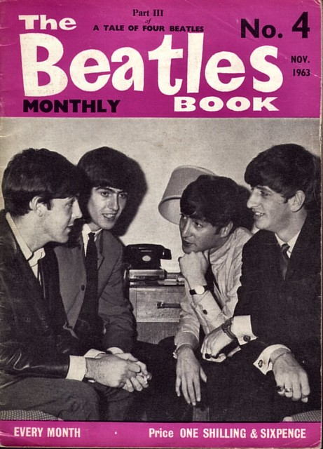 Book Cover Black Beatles : Beatles monthly no nov front cover flickr
