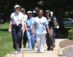 A group of VA employees participating in the VA2K event.