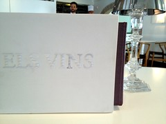 Carta de vinos @ Quique Dacosta Restaurant