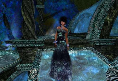 Paris Metro: Couture Sea Star Gown G by Cherokeeh Asteria