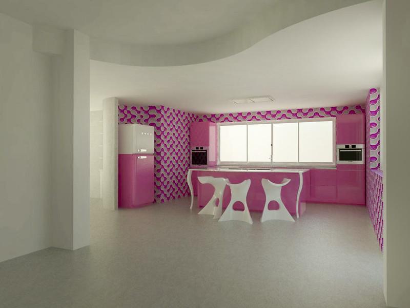 Forum Arredamento.it •Cucina Scic - Render rosa - render ...
