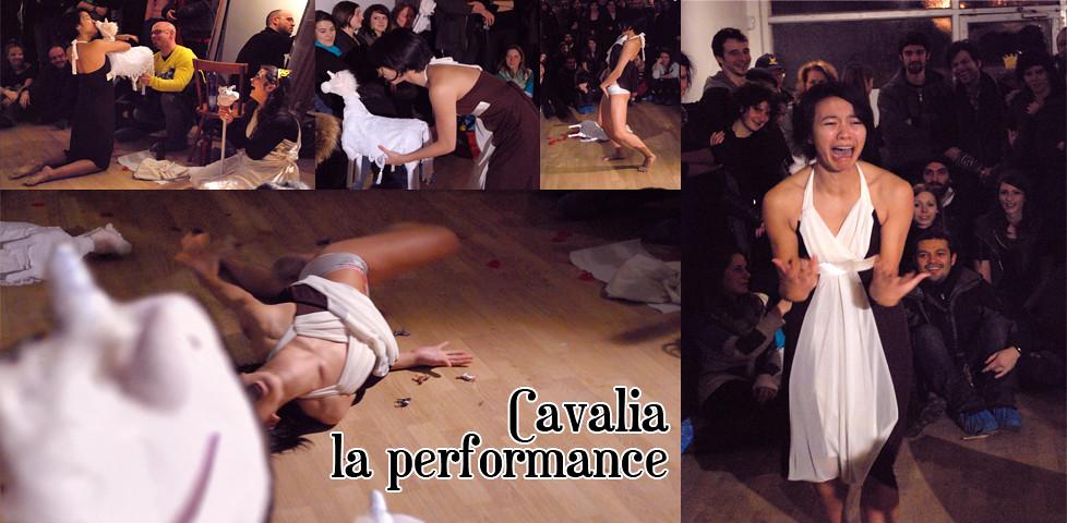Cavalia la performance