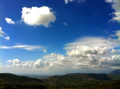 [フリー画像素材] 自然風景, 空, 雲, 風景 - イタリア, 青空 ID:201204192000
