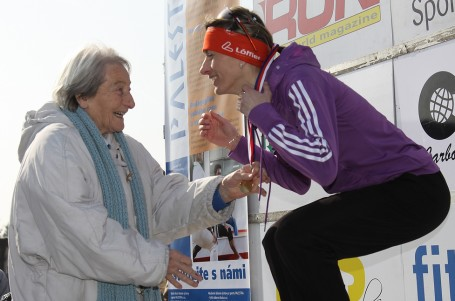 Úspěch Ivany je živou vodou pro celý český běh