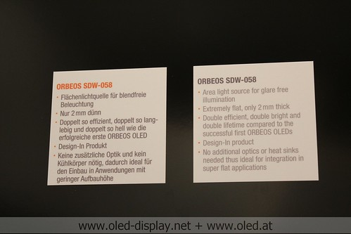 Osram OLEDs at light and building 2012
