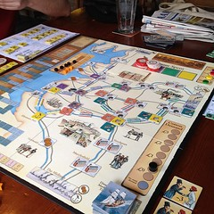 Brass, nearing end of canal era #boardgames