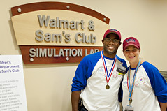 Walmart and Sams Club Employees visit the ACH SIM Lab