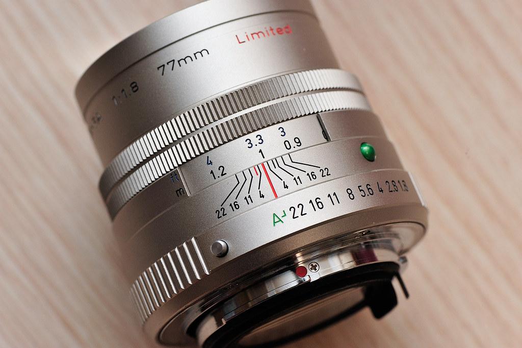 SMC PENTAX FA77mm F1.8 Limited