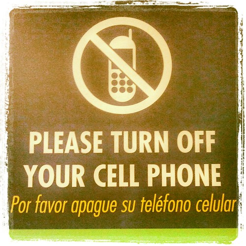 Turn Off Your Cell Phone by Jodi K.