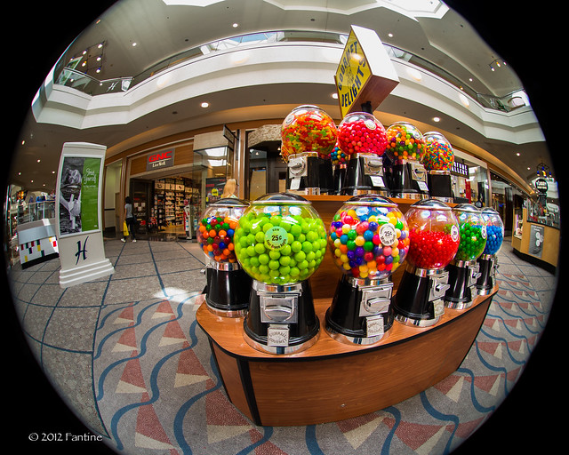 Gumballs at the Mall