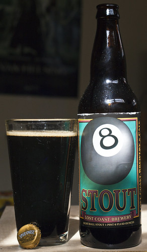 Review: Lost Coast 8-Ball Stout by Cody La Bière