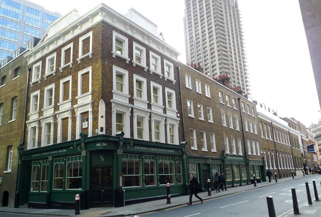 Chiswell Street Dining Rooms Restaurant  London