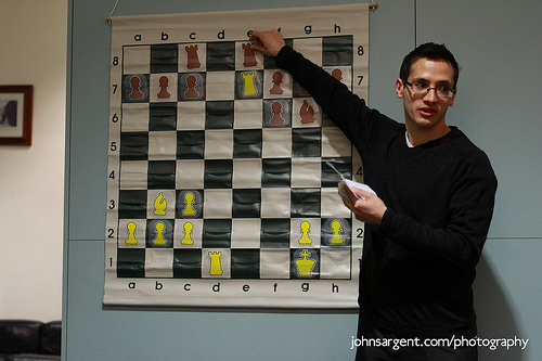 Simul by IM Lorin d'Costa at Hendon Chess Club