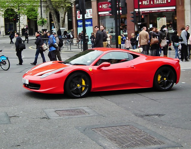 Ferrari 458 Italia Dct   Flickr - Photo Sharing!
