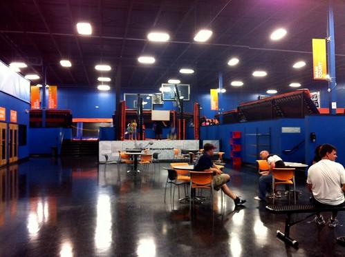 Inside Sky Zone, Memphis, Tenn.