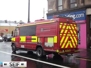 strathclyde fire and rescue Glasgow2012