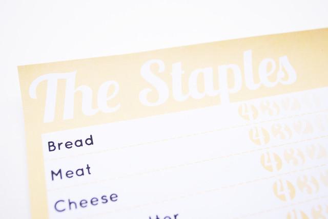 Staples Checklist