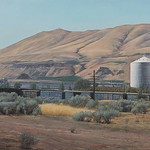 "Artist: Rick Dula, Title: Columbia River Industry, Courtesy of William Havu Gallery - Arvada Center PLACES Upper Gallery June 7 -  August 26, 2012  The artists in this exhibition express their interpretation of place through many media.  <a href=""http://arvadacenter.org/galleries/summer-gallery-exhibition-2012-faces-places-and-spaces"" rel=""nofollow"">arvadacenter.org/galleries/summer-gallery-exhibition-2012...</a>"