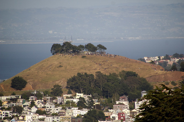 Bernal Heights Turns Out for the Eclipse
