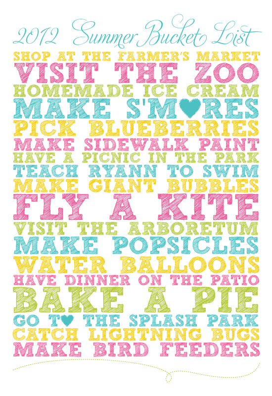 2012SummerBucketList