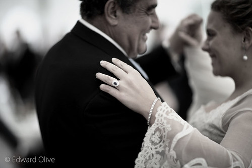 The bride and father first dance - Edward Olive wedding photographer in Spain Madrid Barcelona by Edward Olive Fotografo de boda Madrid Barcelona