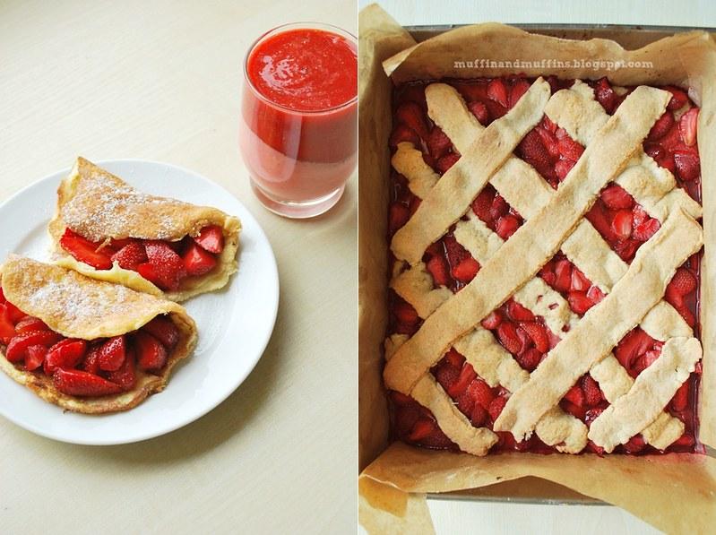 Triple strawberries