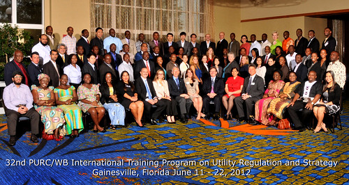 32nd PURC/World Bank International Training Program
