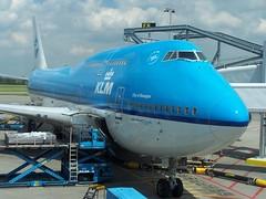 "KLM Boeing 747-400 ""City of Shanghai"""