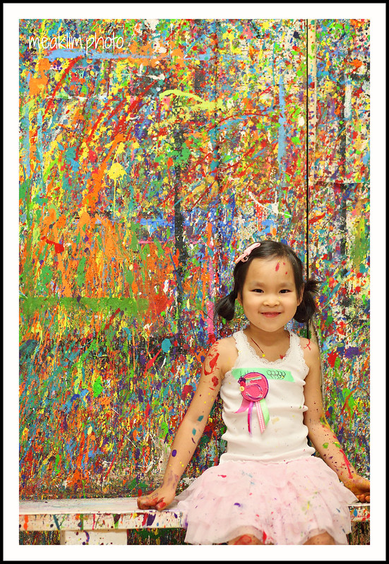 Lilah's 5th birthday party @ 4Cats art studio