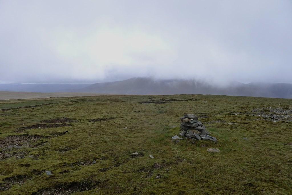 Summit of Beinn nan Ramh