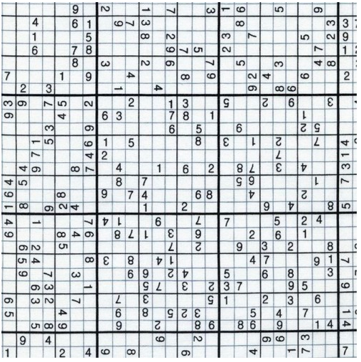Sudoku - Geek Chic Fabric