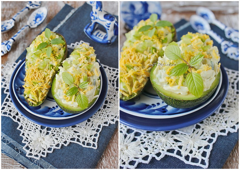 ...Avocado Egg Salad collage