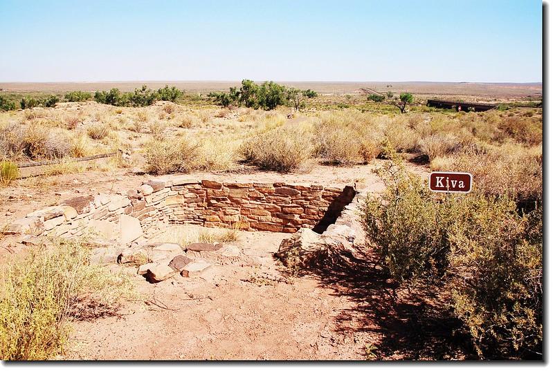 Kiva(Puerco Pueblo)