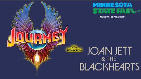 09/01/14 Journey/ Joan Jett and the Blackhearts @ MN State Fair, St. Paul, MN