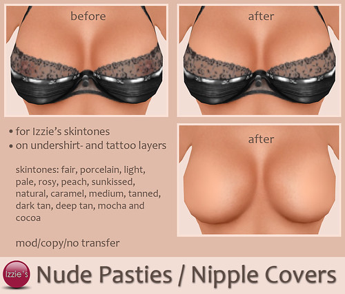 Nude Pasties / Nipple Covers