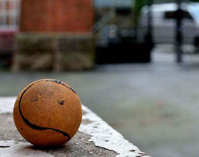 Una bola de Pesäpallo