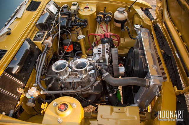 Mazda RX-2 rotary engine