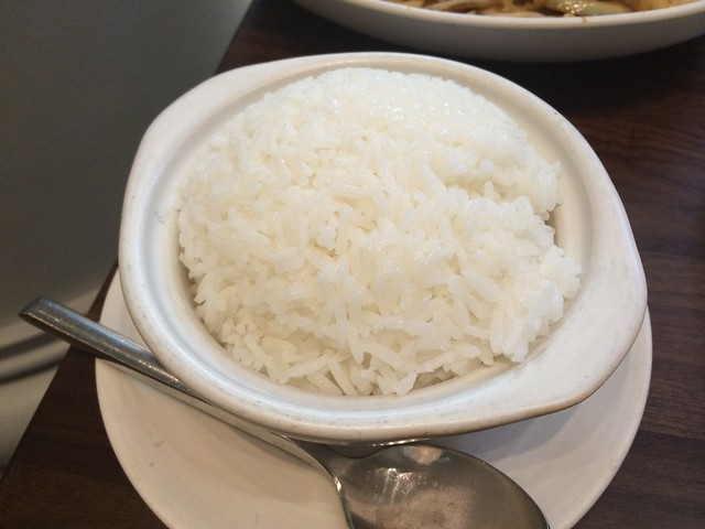 Steamed rice - M.Y. China