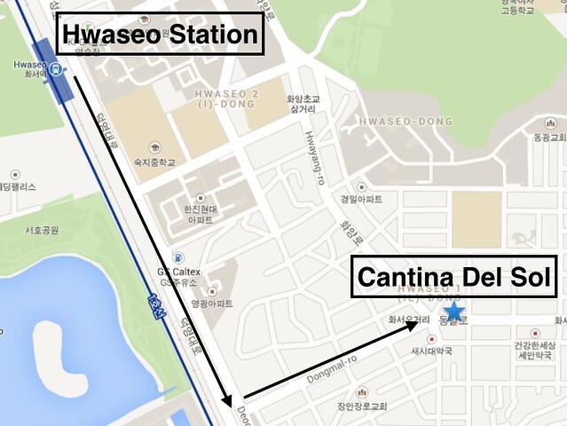 Cantina Del Sol Directions
