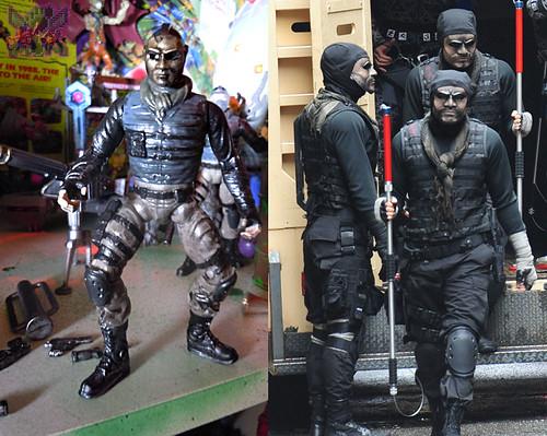 """NINJA TURTLES"" Movie :: FOOT SOLDIER  { tOKKustom PARAMILITARY wash } x // ..tried to make movie accurate (( 2014 ))"