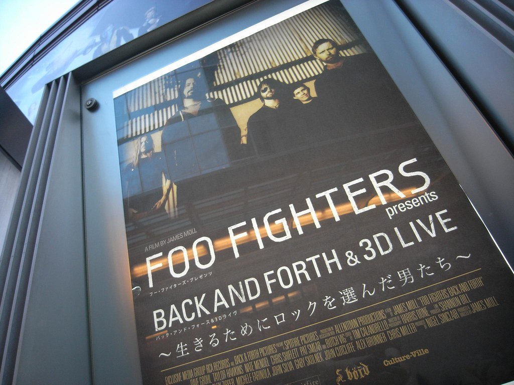Amazon.com: Back And Forth [Blu-ray]: Foo FIghters, James ...
