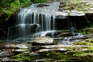 Tom Branch Falls (close up) - Deep Creek Area