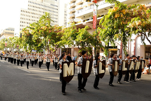 Pan Pacific Parade - Mililani High School