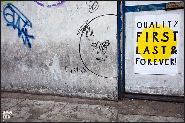 Anthony Lister London Street Art Tag