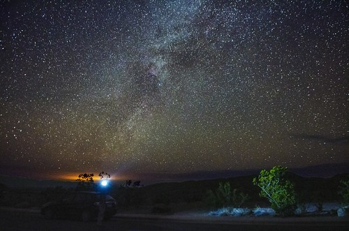 Milky way from Big Bend